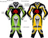Motorcycle suit style MS0036LS WWW.LEATHER-SHOP.BIZ front and back of suit picture