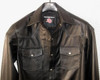 Leather Shirt LS014 WWW.LEATHER-SHOP.BIZ available in 8 colors custom made front pic 2