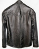 Leather Shirt LS014 WWW.LEATHER-SHOP.BIZ available in 8 colors custom made back pic