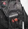 LS037 leather shirt WWW.LEATHER-SHOP.BIZ gun pocket pic