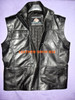 leather vest style MLVL10 www.leather-shop.biz custom made front picture