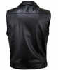Leather Vest Jeans Style MLV1331 www.leather-shop.biz back pic