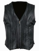 Custom Made Leather Vest Style WLV1241