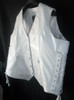 Custom Made Leather Vest Style WLV1201 WWW.LEATHER-SHOP.BIZ side view 2 pic