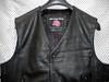 Leather Vest Style MLV740 no seams WWW.LEATHER-SHOP.BIZ collar pic