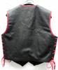 Leather Vest Style MLVB740 no seams WWW.LEATHER-SHOP.BIZ back pic