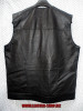 Leather Sleeveless Shirt LS260 no collar style WWW.LEATHER-SHOP.BIZ back pic