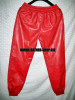 Leather sweat pants kanye west style  LSP101 www.leather-shop.biz back pic