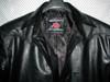 Leather shirt style LS032 black www.leather-shop.biz collar pic