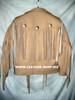 Fringed leather jacket custom made style MLFJ203 light brown WWW.LEATHER-SHOP.BIZ  back pic