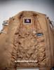 Fringed leather jacket custom made style MLFJ203 light brown WWW.LEATHER-SHOP.BIZ  inside pic