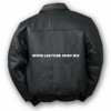 Leather Jacket Bomber Style MLJ0021B Custom Made In 8 Colors