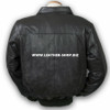 Leather Jacket Bomber Style MLJ0022B Custom Made In 8 Colors
