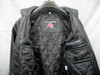 Leather bomber jacket inside lining view pic 2