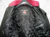 leather bomber jacket MLJ0032B inside jacket pic