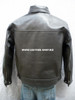 Luftwaffe fighter pilot style leather jacket MLJ101F back picture
