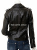 Ladies Leather Jacket Custom Made Motorcycle Style LLJ612 Made In 8 Colors