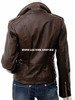 Ladies Leather Jacket Custom Made Motorcycle Style LLJ616 Made In 8 Colors