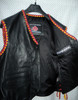 Mens Leather Vest Braided Style MLVB734 5 Leather Types