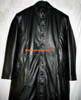 Leather Trench Coat Style MTC555 Custom Made Available In 8 Colors