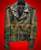 Camo Leather Jacket MLJC101 Custom Made in any style