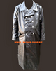 Leather Trench Coat WWII German Style MTC639 Custom Made Available In 8 Colors