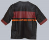 Leather T-Shirt Custom Made Style LTS001 All Sleeve Lengths Available