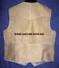 Mens Leather Vest Western Style MLV90 9 Colors Available