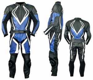 Combinaison moto racing Combinaison cuir MS2054 devant / coté et arrière photo