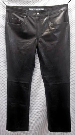 سروال جلدية جينز نمط MLP1140 WWW.LEATHER-SHOP.BIZ الجبهة الموافقة المسبقة عن علم