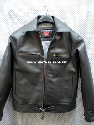 Luftwaffe fighter pilot style leather jacket MLJ101F front picture 2