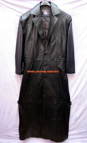 Δερμάτινο τάφρο παλτό Style Undertaker MTC666 προσαρμοσμένο διατίθεται σε χρώματα 8