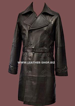 معطف طويل من الجلد حسب الطلب نمط MLC520 WWW.LEATHER-SHOP.BIZ front picture.jpg