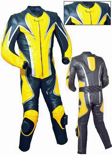 style MS2040yellow WWW.LEATHER-SHOP.BIZ front and back pic