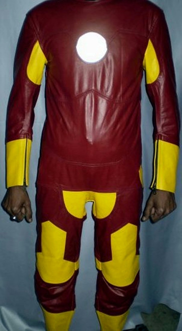 Leather suit style MS101 Iron Man WWW.LEATHER-SHOP.BIZ front pic