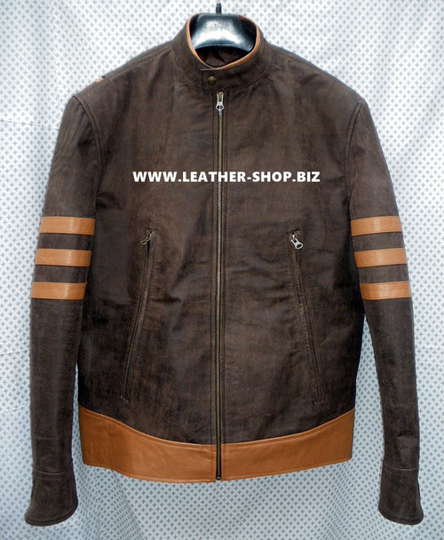 X-Men replica leather jackets MLJ166W for sale front picture