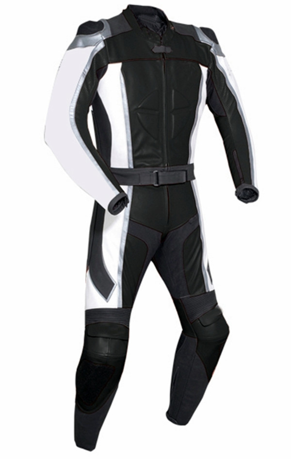 Leather Racing Suit style MS781 black WWW.LEATHER-SHOP.BIZ pic