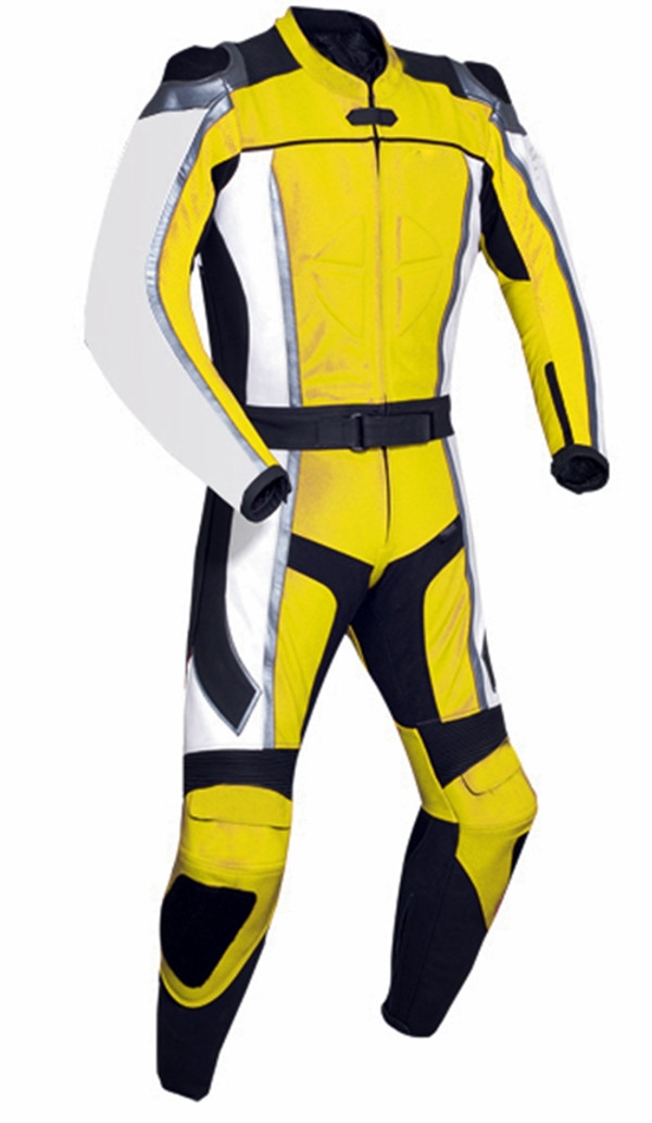 Leather Racing Suit style MS781 yellow WWW.LEATHER-SHOP.BIZ pic