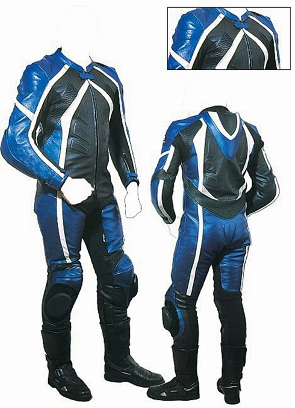 style MS2050 blue WWW.LEATHER-SHOP.BIZ front and back pic