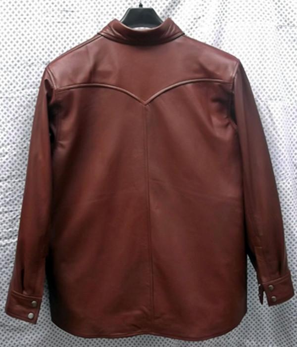 Kožna majica prilagođena stilu LS016 izrađena po narudžbi na www.leather-shop.biz