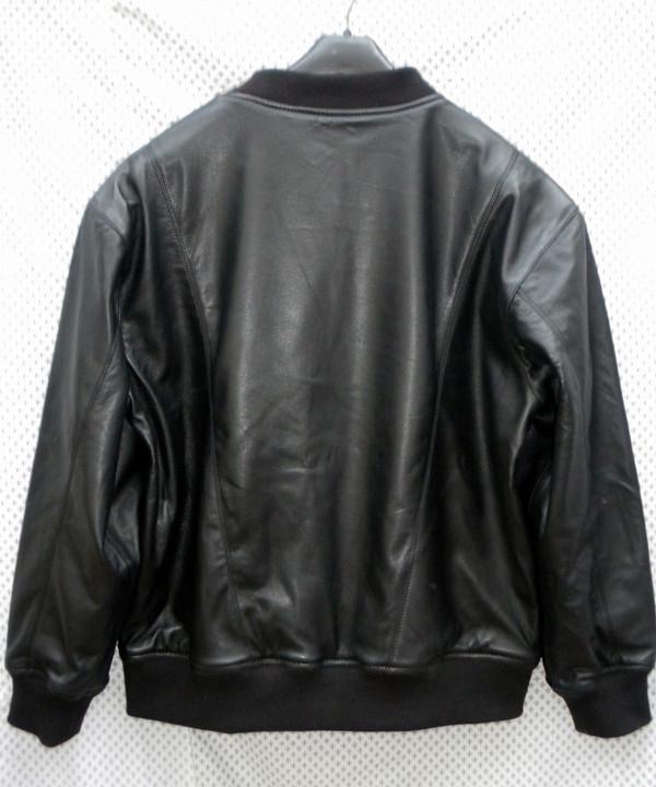 Nahast higisärk LSS010 koos tallenaha voodriga www.leather-shop.biz särgi pildi tagakülg