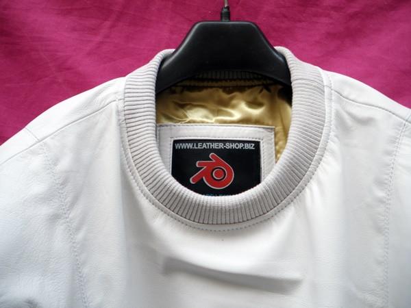 جلد الغنم قميص عرق مخصص صنع نمط LSS005