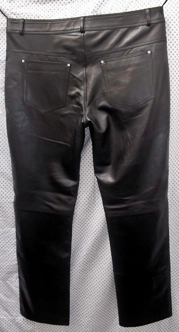 Leather Pants Jeans Style MLP1140 WWW.LEATHER-SHOP.BIZ back pic