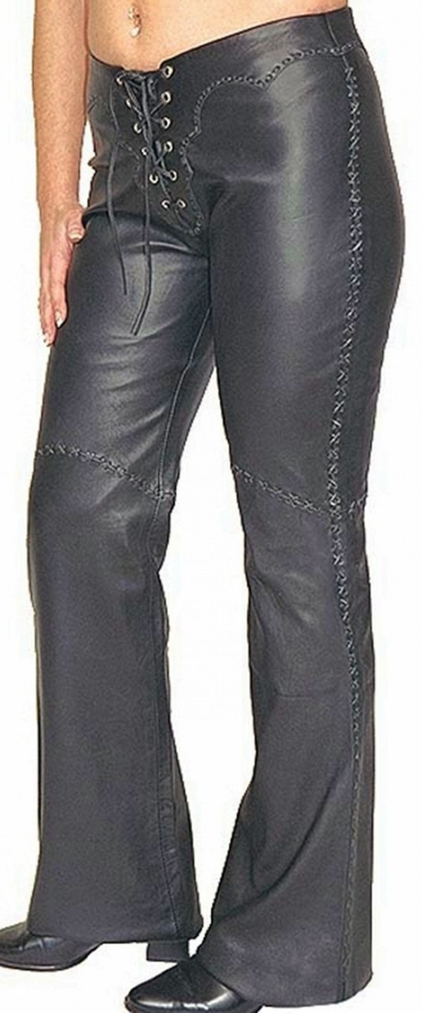 Lambskin leather pants style WLP222 WWW.LEATHER-SHOP.BIZ pic