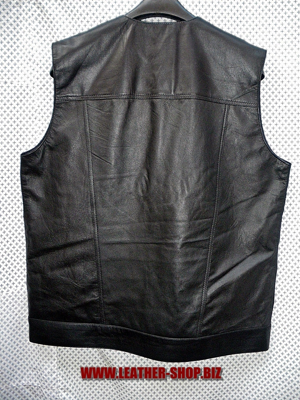 Leather vest style MLV1333 WWW.LEATHER-SHOP.BIZ back pic