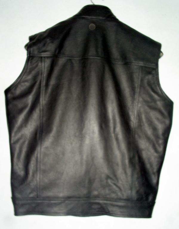 Leather vest MLV1334 WWW.LEATHER-SHOP.BIZ back pic