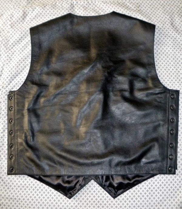 Fest lledr 732 www.leather-shop.biz yn ôl 2 ddelwedd