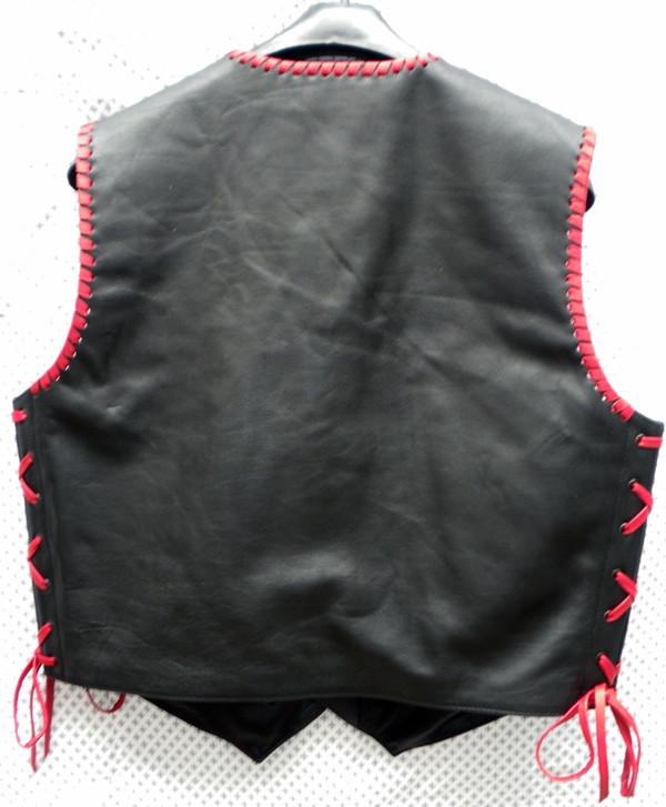 Leder Vest Style MLVB740 gjin seamen WWW.LEATHER-SHOP.BIZ efterfoto