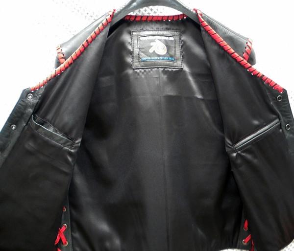 Leather Vest Style MLVB740 no seams WWW.LEATHER-SHOP.BIZ inside pic