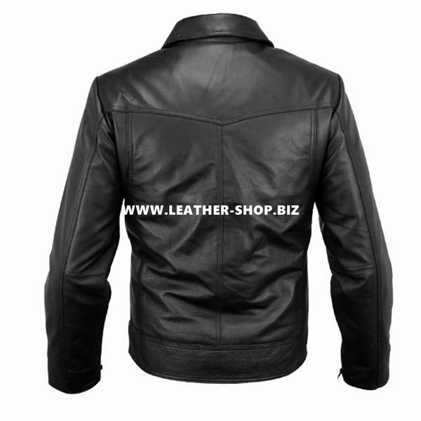 Leather Bomber Jacket Style MLJ0025B Custom Made In 8 Colors